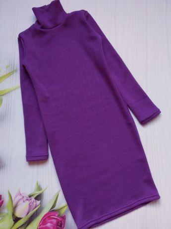 Платье-гольф для девочки 9,10,11лет 134,140,146-152см