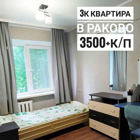 3к квартира в Раково