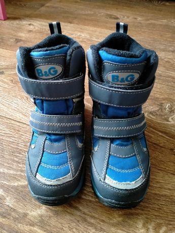 Термо ботинки, сапоги B&G 27р