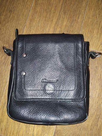 Продам кожаную мужскую сумку Diamond