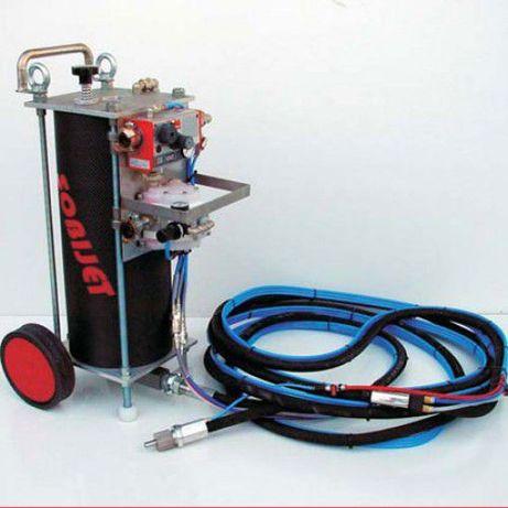 Máquinas de decapagem jato soda ( Bicarbonato de sódio)