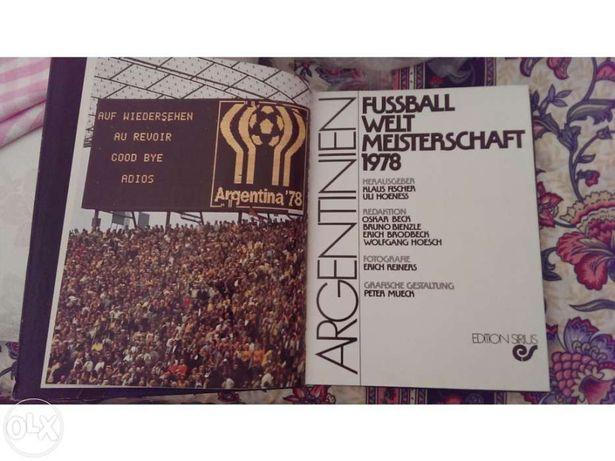 Livro sobre mundial de futebol 1978 / Argentina