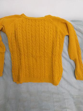 Camisola amarela torrada - stradivarius