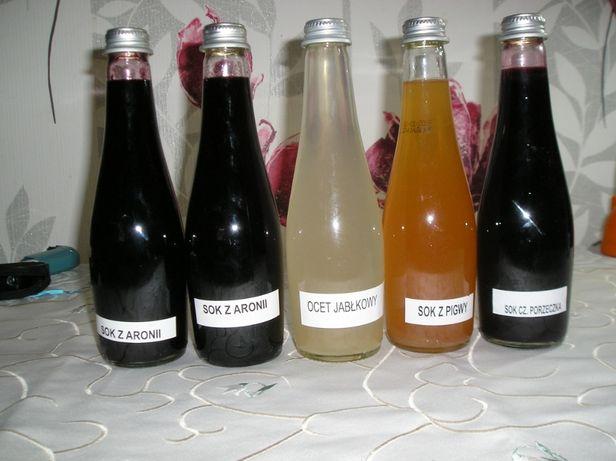 soki owocowe, różne rodzaje