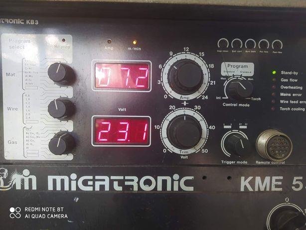 Migomat Migatronic KME 550 synergia 550A nie kemppi esab magnum ozas