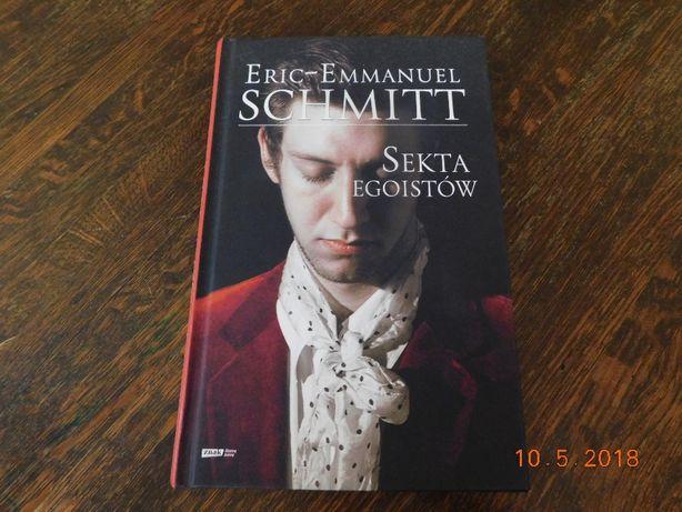 Sekta egoistów, Eric - Emmanuel Schmitt, powieść