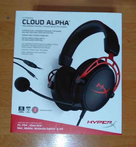Наушники HyperX Cloud Alpha черные