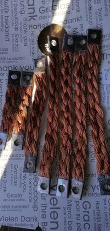 проводник плоский плетенка из медной проволоки протектор