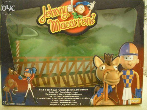 Bonecos e Figuras- Famosa Joquei e Cavalo