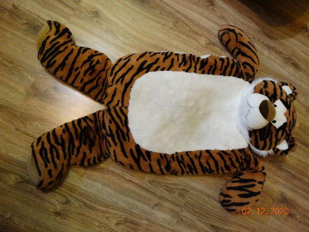 Pluszowy tygrys-maskotka-dywanik