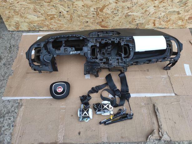 Fiat 500L 500 L безопасность комплект торпедо airbag подушка в руль