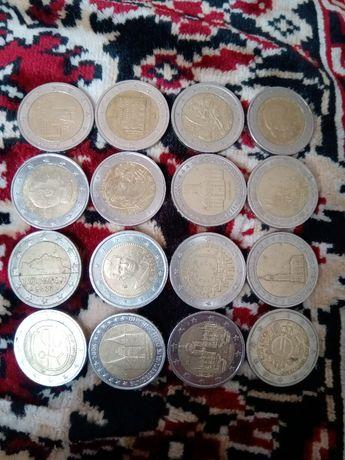 Монеты 2 евро колекционные 150 грн-1 шт