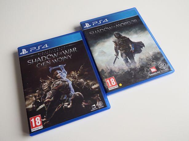 PS4 Shadow Of Mordor + Shadow Of War 2 części Władca Pierścieni PS4
