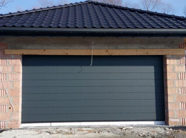 Brama garażowa segmentowa Wiśniowski Napęd Automat kolory