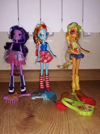 Sprzedam lalki My Little Pony z akcesoriami 3 sztuki