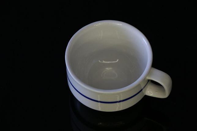 Chávena de Café clássica com linha azul
