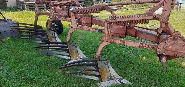 Pług Kverneland Fraugde 4 Skibowy Ażurowy Sprężyny