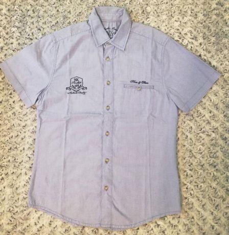 Рубашка Heritage, оригинал, голубого цвета на подростка 14 лет