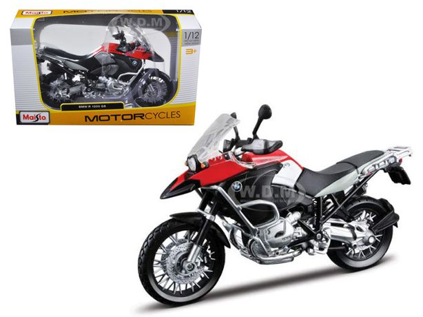 BMW R1200GS Escala 1:12 NOVA