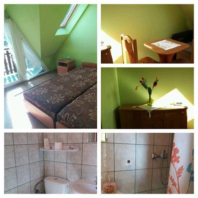 noclegi Zakopane dwu-trzy osobowy pokój z łazienką i balkonem