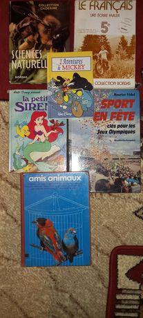 Книги французькою мовою.