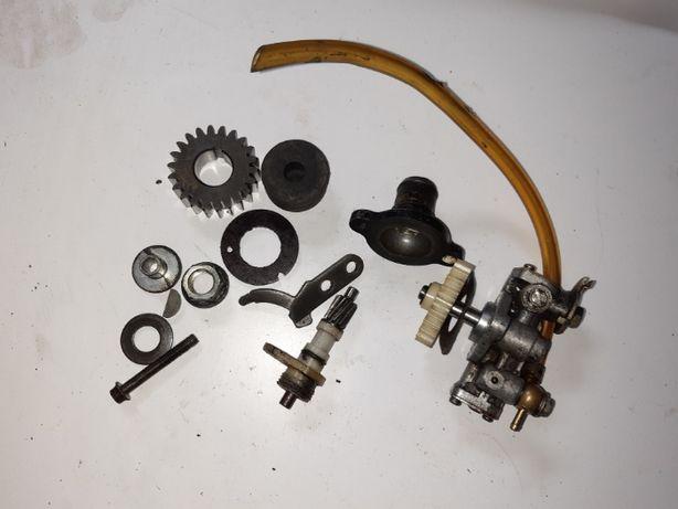 Kawasaki Kmx 125 86rdo02r dozownik oleju slimak tryb dekiel części