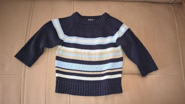 sweterek chłopięcy 74/80