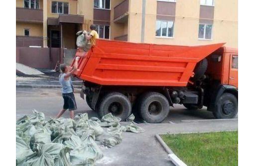 Вывоз строительного мусора, снос / демонтаж домов, грузчики, котлованы