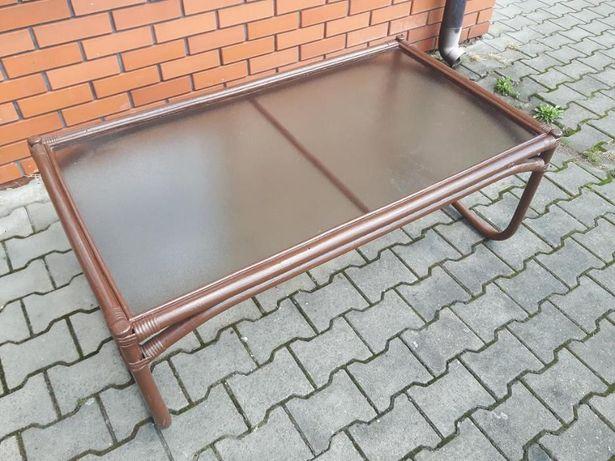 ława używana zadbana szkło