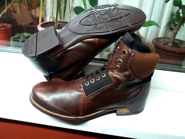 """Стильные утепленные кожаные ботинки """"FIRETRAP""""! Англия! 44,5 р."""