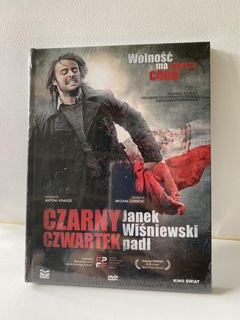 Nowy film Czarny Czwartek Janek Wiśniewski padł oryginalne opakowanie