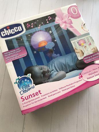Ночник Chicco, музыкальный ночник, мобиль на кроватку
