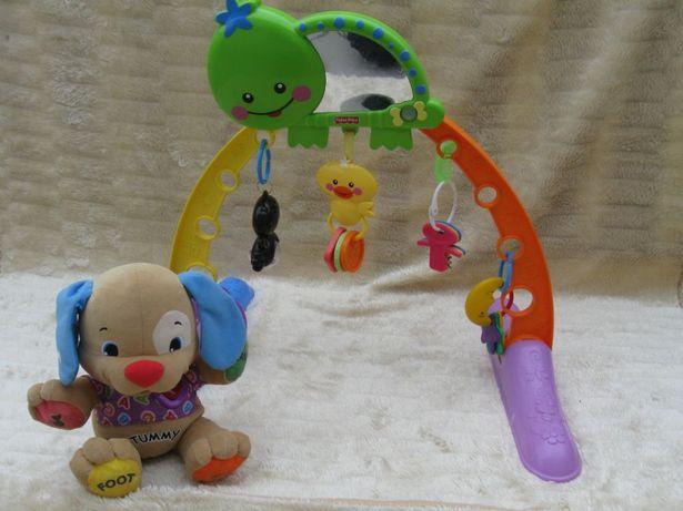 Fisher Price Stojak z zabawkami i Piesek Szczeniaczek