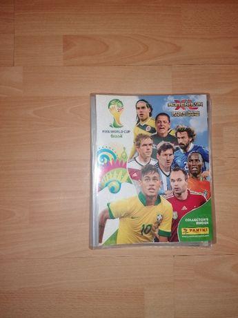 Album Panini Adrenalyn XL FIFA World Cup Brasil 2014 z kartami