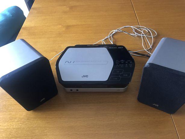 Leitor de cd, mp3 e radio JVC UX-N1
