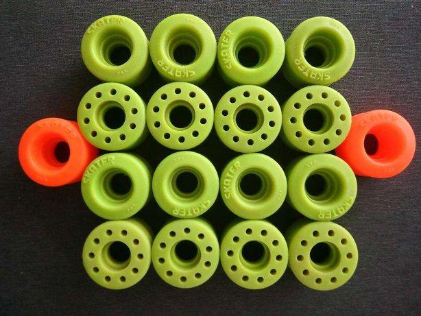18 rodas para patins ou skateboard