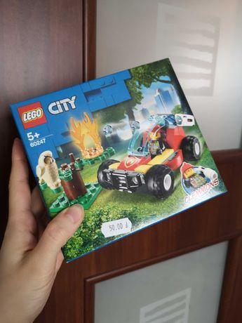 Nowe LEGO 60247 City Pożar Lasu
