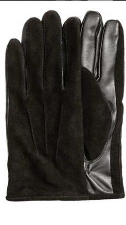 Перчатки мужские h&m кожаные