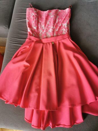 Oddam sukienki roz S weselne