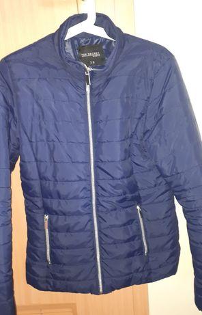 Top Secret granatowa kurtka pikowana wiosna jesień rozmiar 38