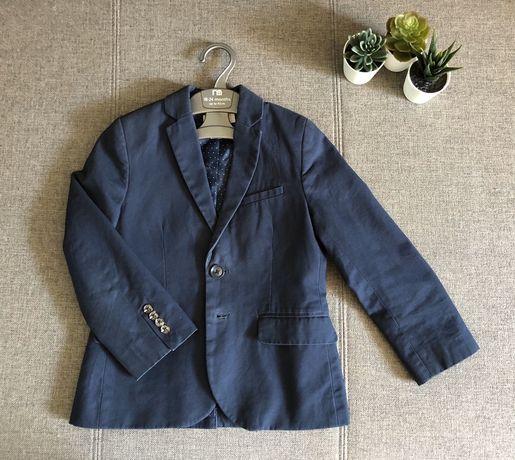 Нарядный школьный пиджак H&M на мальчика 6-7 лет