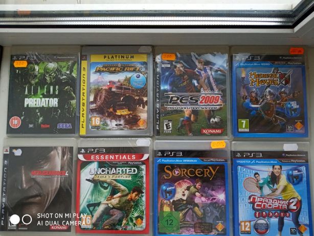 Продам Игры для игровой приставки SONY PS3