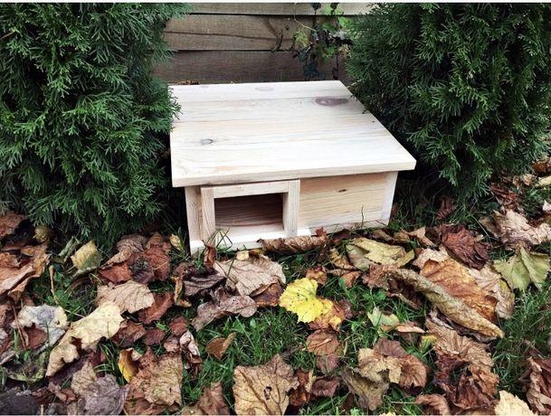 Domek dla jeża domek drewniany
