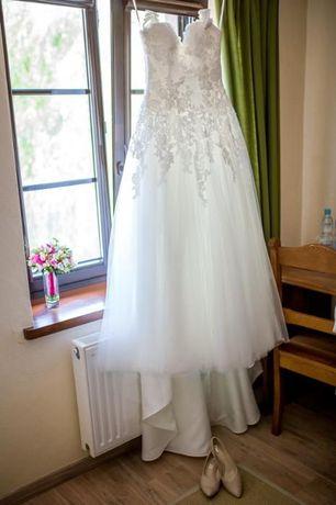 Unikalna hiszpańska suknia ślubna