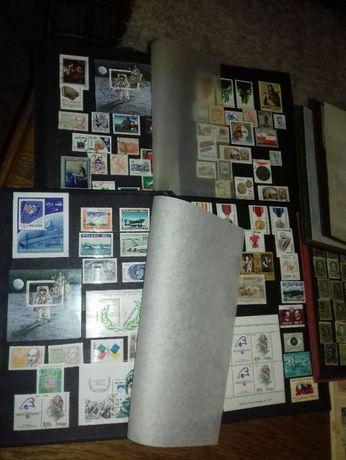 7503 szt znaczków wraz z klaserami