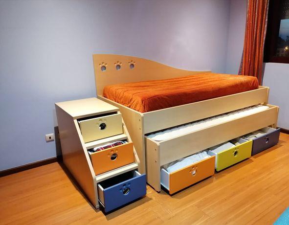 Mobília de quarto super completa