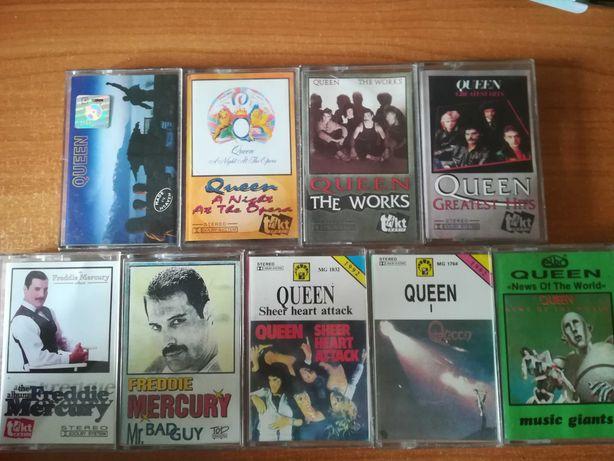 kasety magnetofonowe QUEEN Freddie Mercury na sztuki od 10 PLN