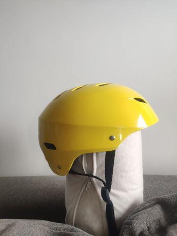 rolki łyżworolki SOC adjustable regulowane 32 - 36 + kask żółty