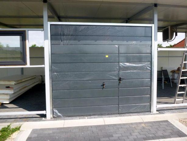 Brama garażowa uchylna Brama dwuskrzydłowa Bramy garażowe na wymiar