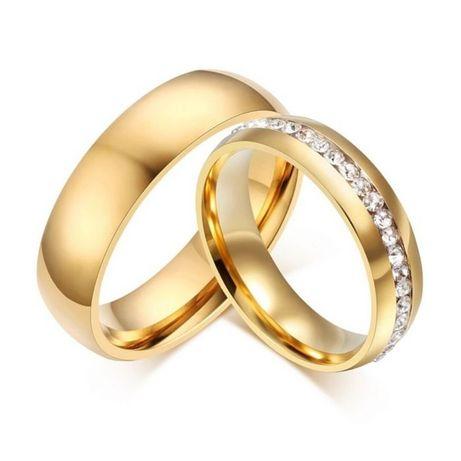 Komplet Złotych Obrączek Ślubnych